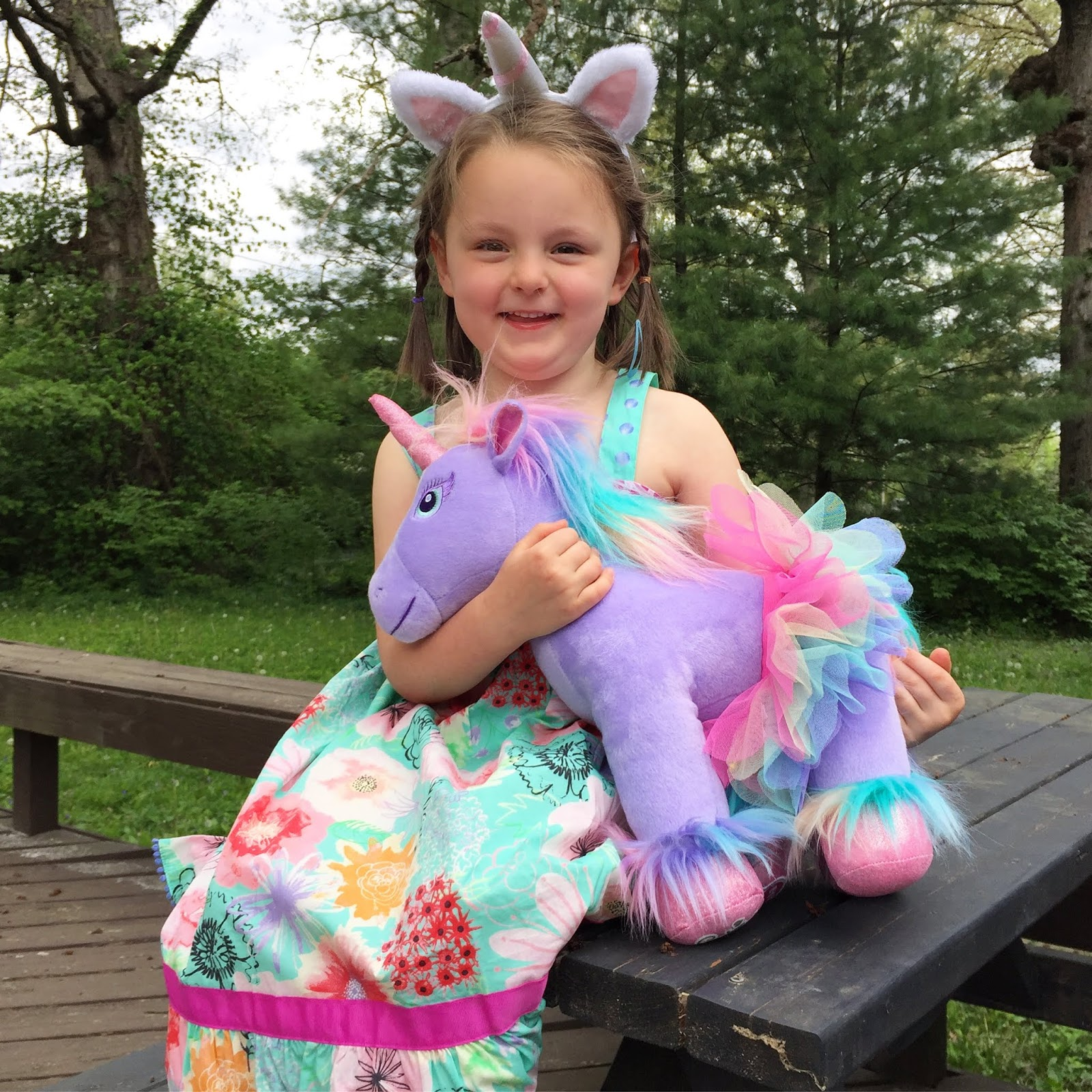 Polka-Dotty Place: A Magical Unicorn Birthday