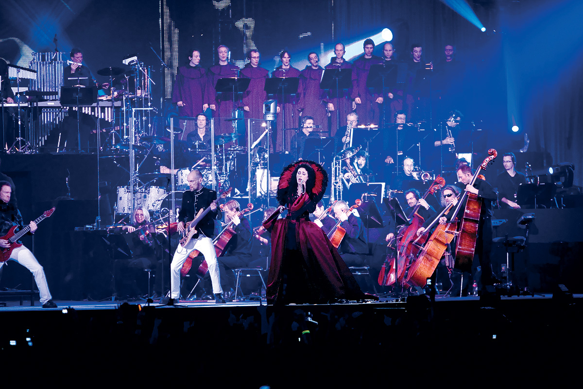 Within temptation live black symphony dresses