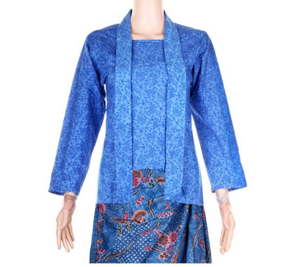 Batik Emboss Modern Wanita Semi Kebaya