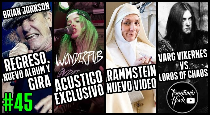 Noticias metaleras #45 | Acoustic WONDERPUB (VIDEO)