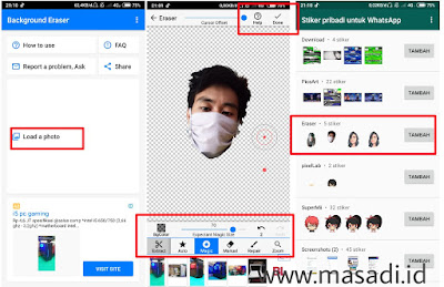 cara buat stiker whatsapp dengan foto sendiri