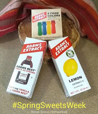 Adams Extract - Spring Sweets Week