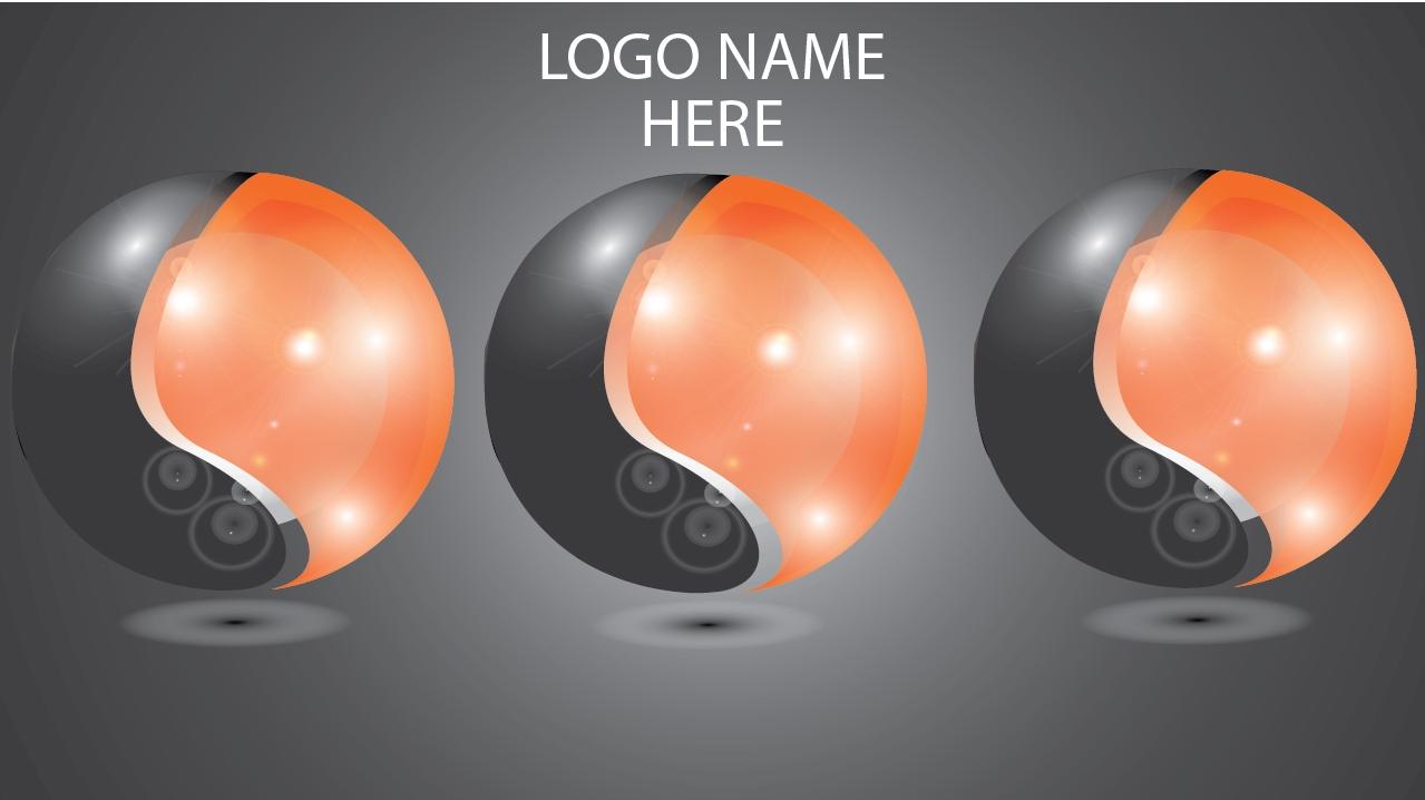 Adobe Illustrator Logo Design ~ How to Create 3D Circle Logo
