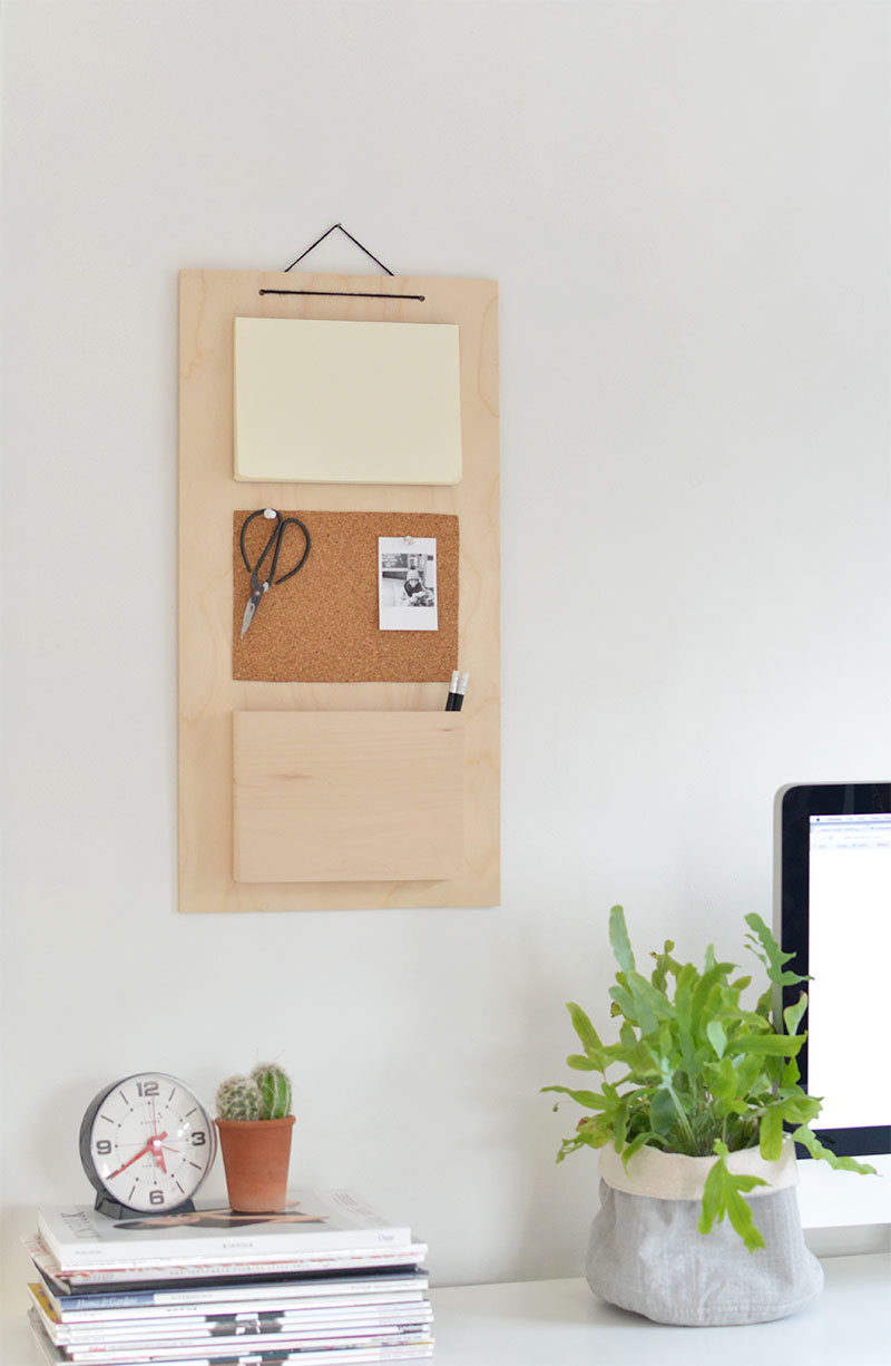 hanging wall organiser tutorial