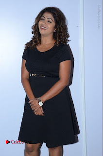 Tollywood Actress Geethanjali Thasya Latest Pos in Black Short Dress at Nanna Nenu Na Boyfriends Audio Launch  0006.JPG