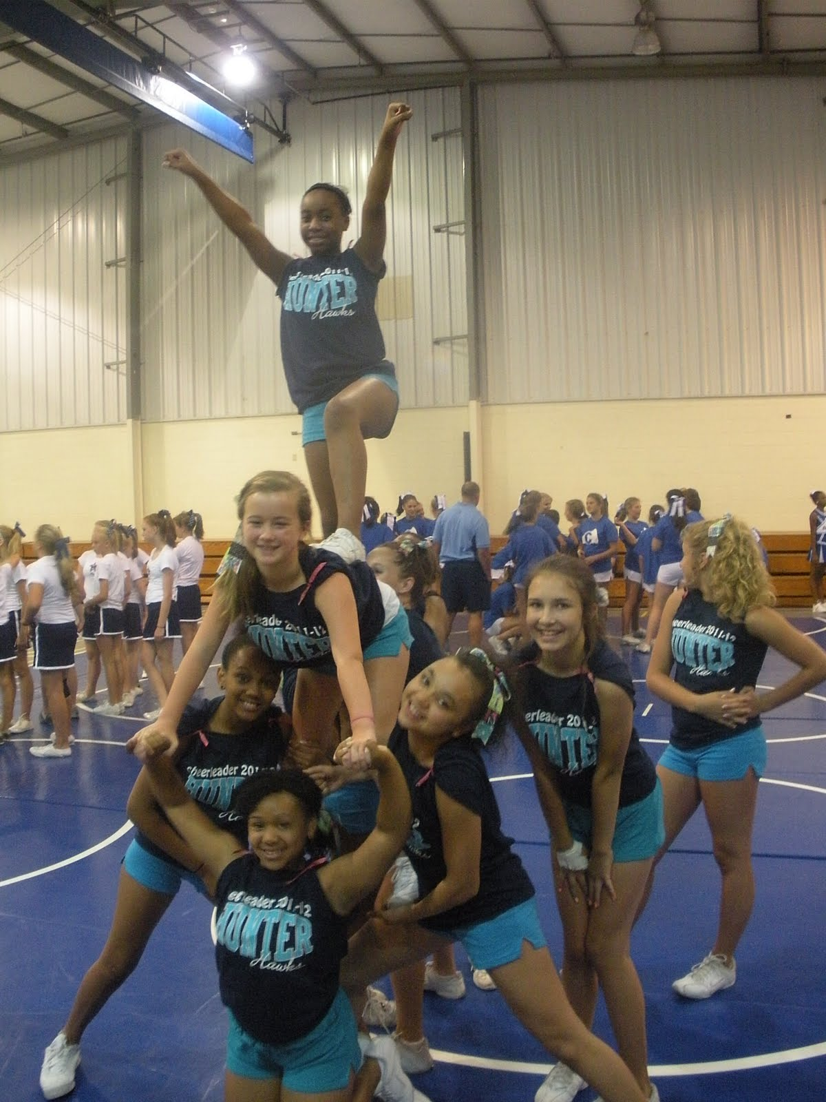 Hunter Middle School Cheerleading: Cheer Camp!