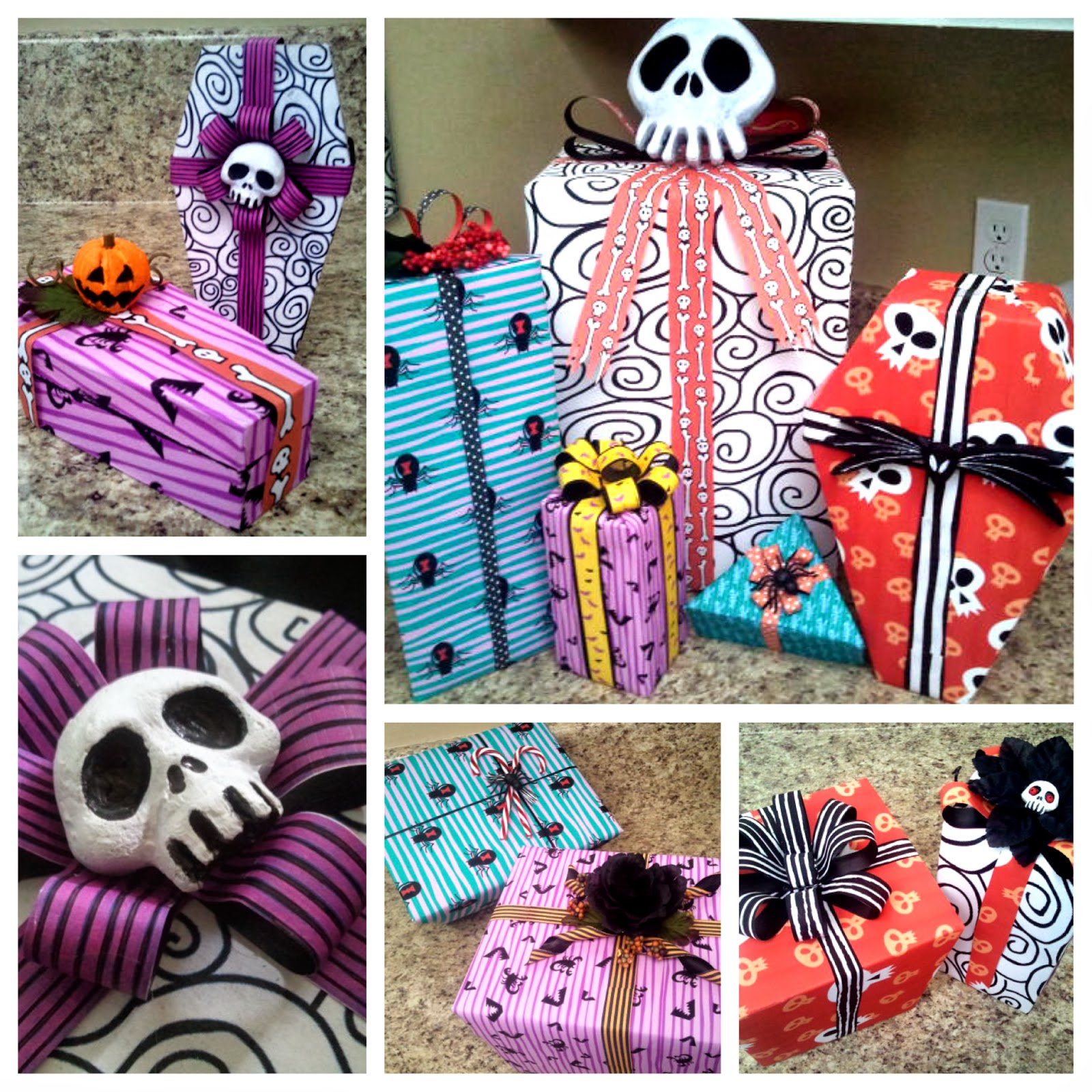 Christmas Present Decorations: DIY Nightmare Before Christmas Halloween Props: Nightmare