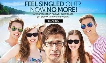 Flat 40% Off on Sunglasses & Eyeglasses @ Lenskart (No Minimum Purchase- 40% Off Valid on All Orders)