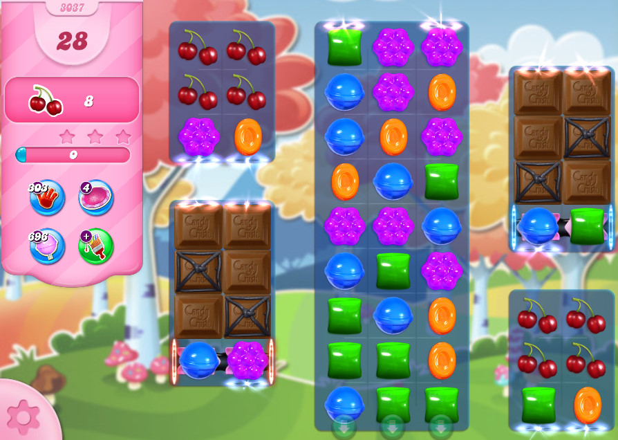 Candy Crush Saga level 3037