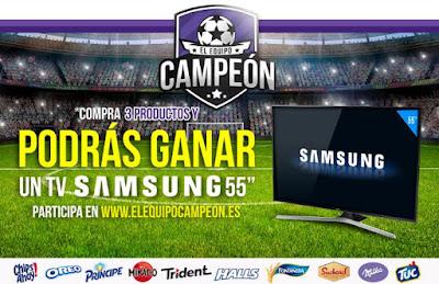 Gana televisor Samsung 55 pulgadas