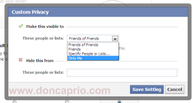 how to hide and limit facebook timeline profile from your friends and public