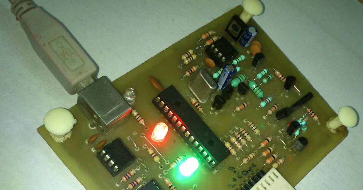 Embedded Engineering  Pickit 2 clone The Universal Microchip PIC