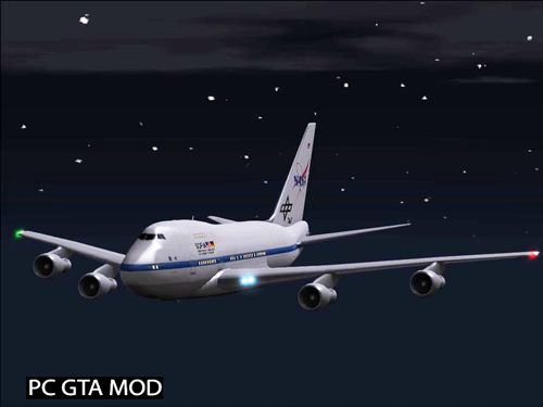 Free Download Boeing 747SP Mod for GTA San Andreas.