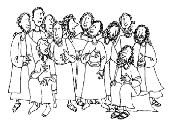 Steps for true discipleship raisingodlychildren for 12 disciples coloring page