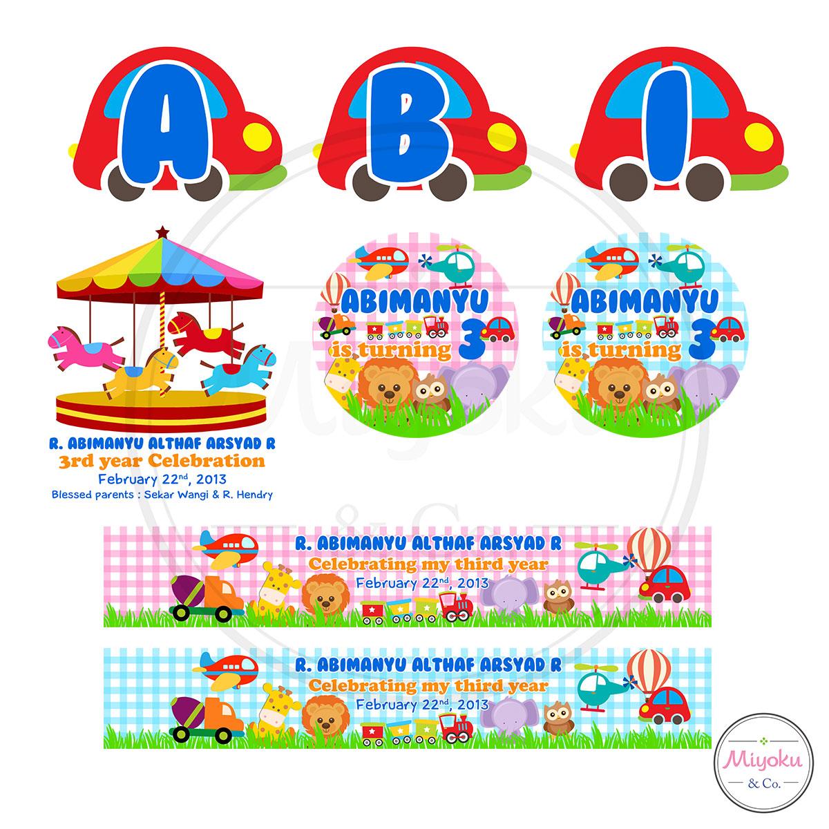 Comment on this picture ulang tahun anak contoh undangan kartu apps - Design Label Souvenir Ulang Tahun S