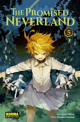 "Manga: Review ""The Promised Neverland"" Vol.5 de Kaiu Shirai y Posuka Demizu - Norma Editorial"