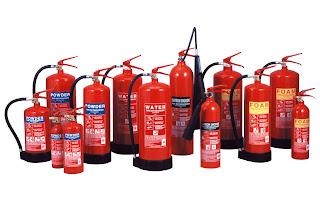 Jenis – Jenis Alat Pemadam Kebakaran Berdasarkan Jenis Kebakaran