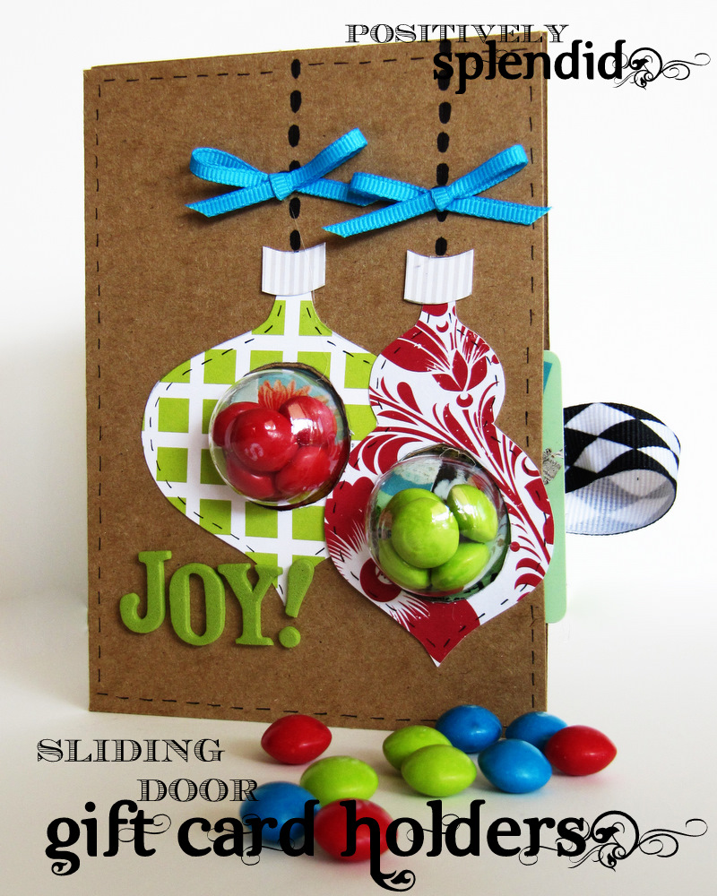 12 Home Decor Gift Ideas From Walmart: Sliding Door Gift Card Holders