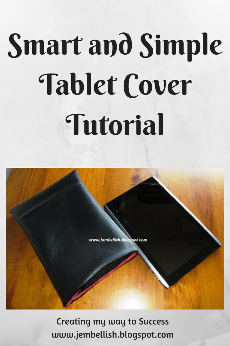 Simple And Smart Nail Art Ideas: Creating My Way To Success: Smart And Simple Tablet Cover