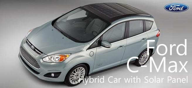 Ford C-Max tenaga matahari / surya