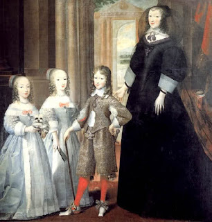 Charles Emmanuel with his mother Christine Maria