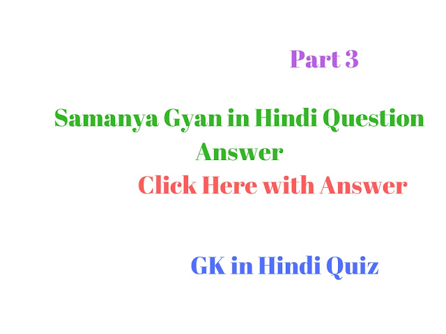 gk for competitive exams in hindi