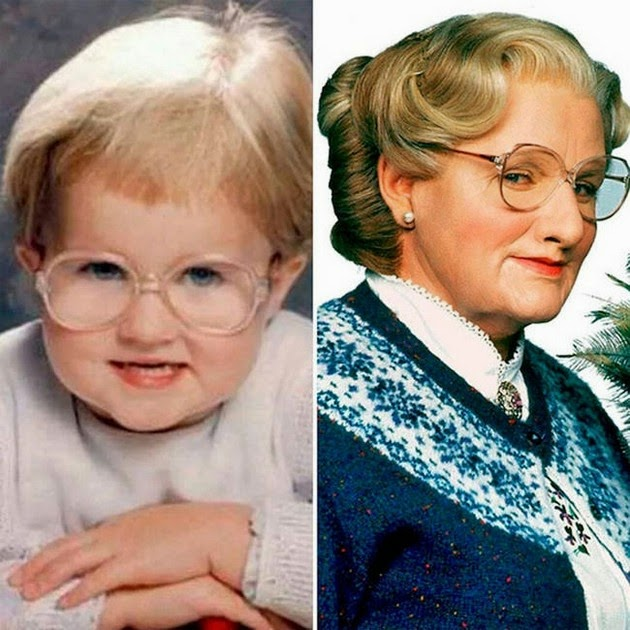 Robin Williams (as Mrs. Doubtfire)