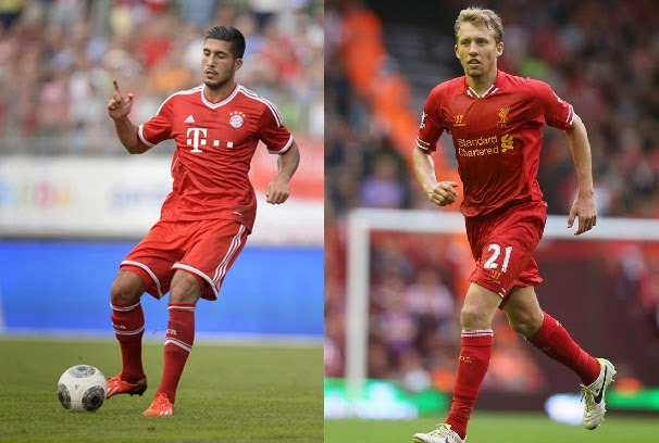 Player Comparison: Emre Can vs Lucas Leiva