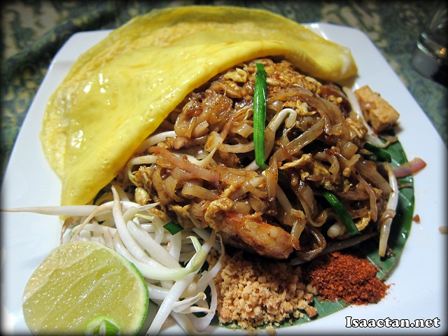 Phad Thai Noodle with Prawn and Egg - RM16