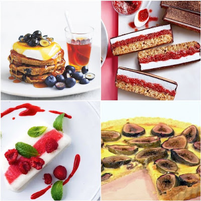 recipe diy low sugar desserts pancakes tart gelato