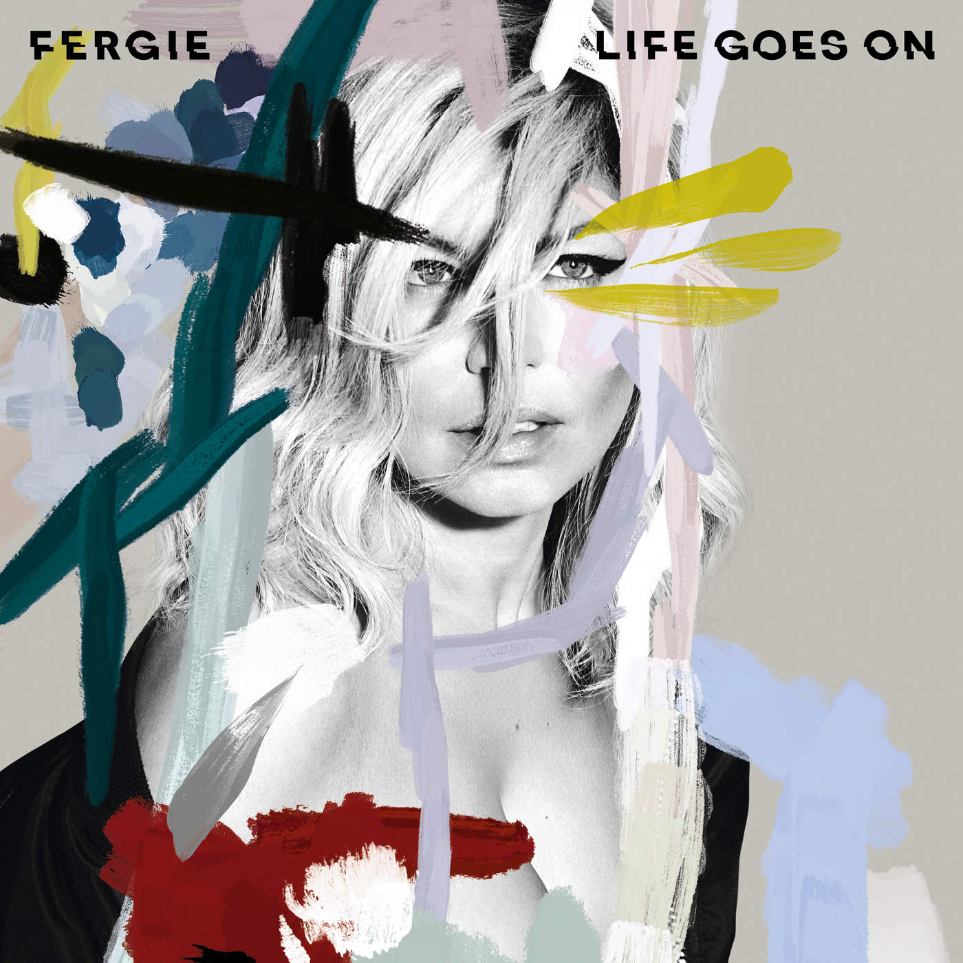 Fergie - Life Goes On - Single Cover