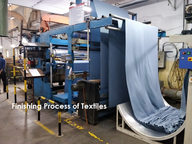 fabric processing and finishing process