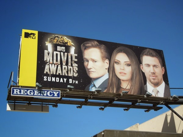 MTV Movie Awards 2014 billboard
