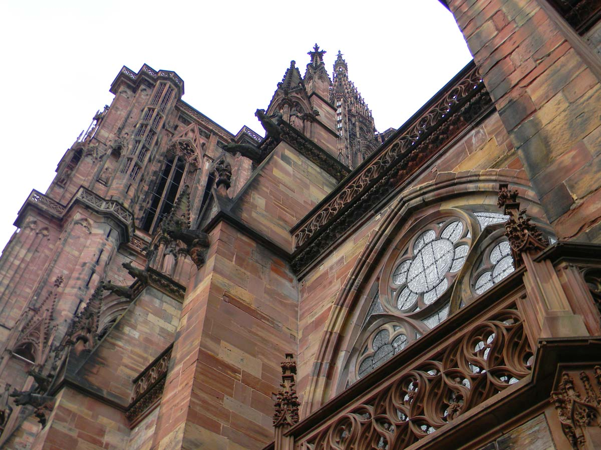 Cathédrale Notre-Dame de Strasbourg, automne