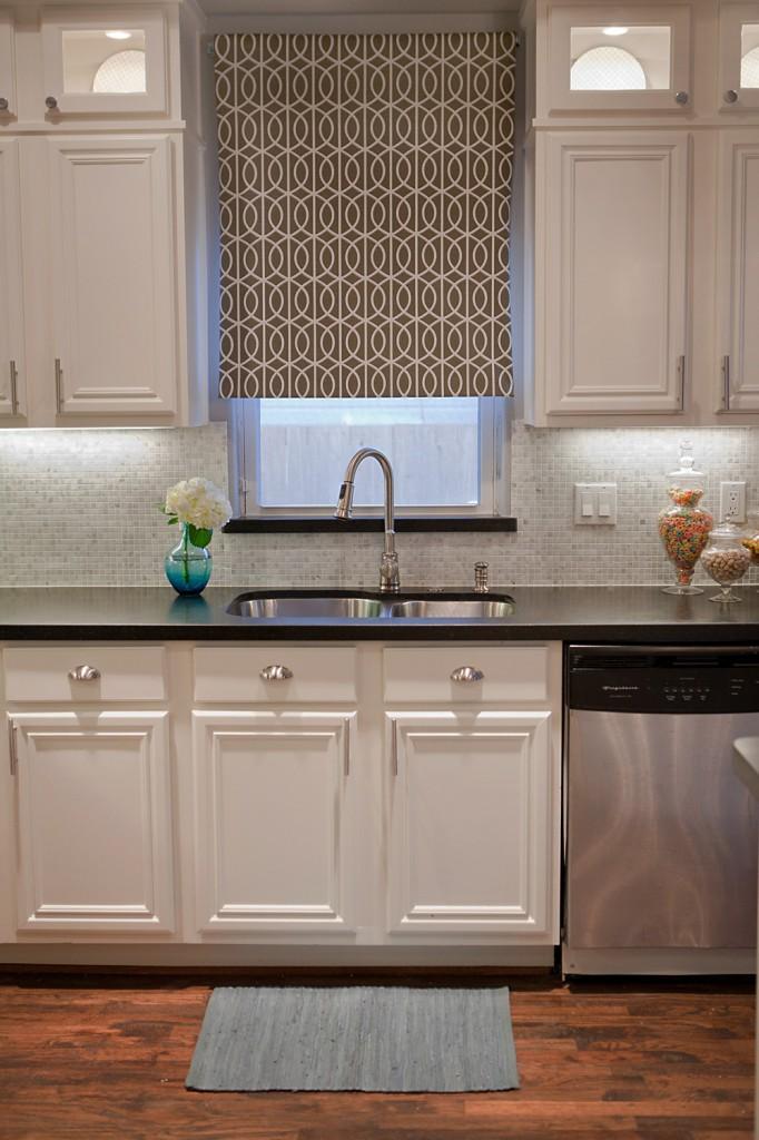 Complete Kitchen Transformation; White