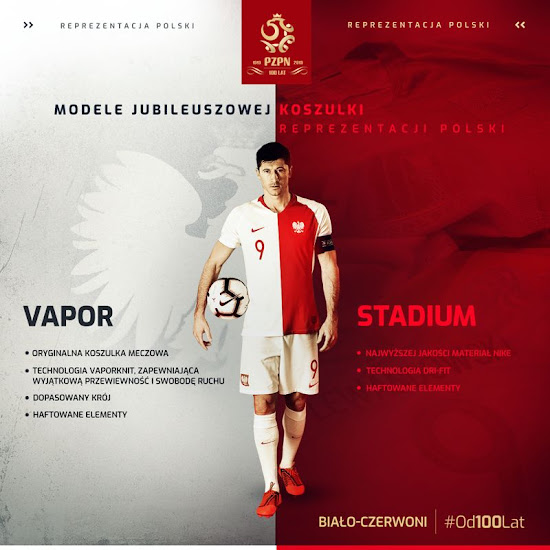 official photos ed03f e423c Limited-Edition Nike Poland 100th Anniversary Shirt Revealed ...