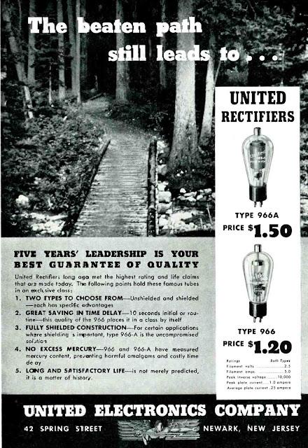 United Electronics 966 966A