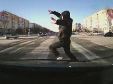 автоподстава пешеходом
