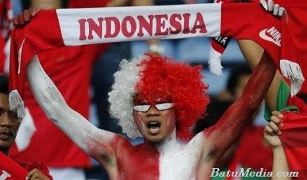 Suporter Timnas Indonesia U-23