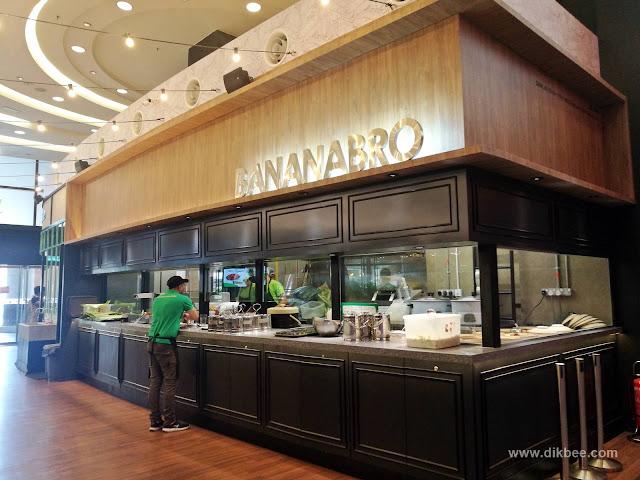 Nasi Daun Pisang Di BananaBro Berjaya Times Square