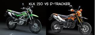 Perbedaan Kawasaki D-Tracker 150 Dengan KLX 150