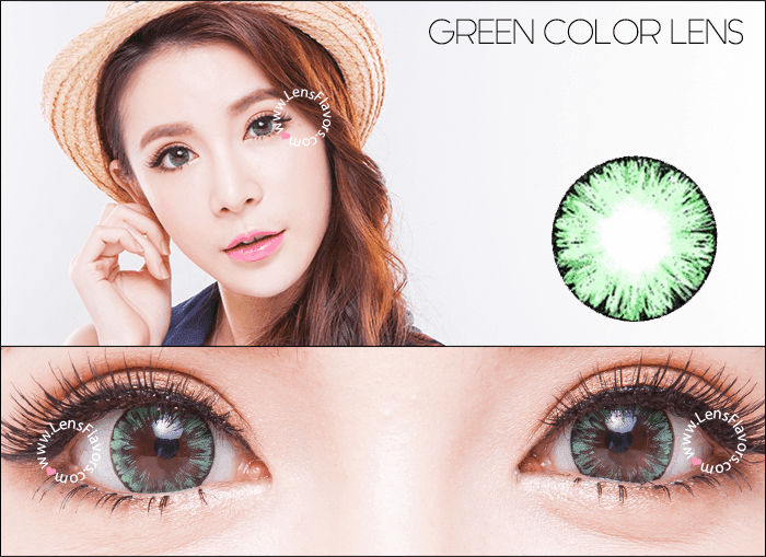 eos ice green circle lenses