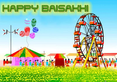 Baisakhi Punjabi Wishes Image