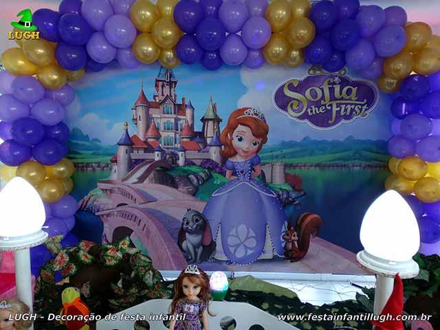 Decoração festa Princesa Sofia - Aniversário infantil