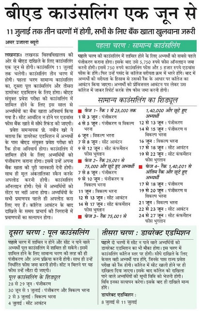 ✉ UP Bed College List 2018 Code Government Private Aided PDF ✉