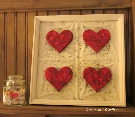 Upcycled Thrift Shop Frame To Valentine's Day Decor