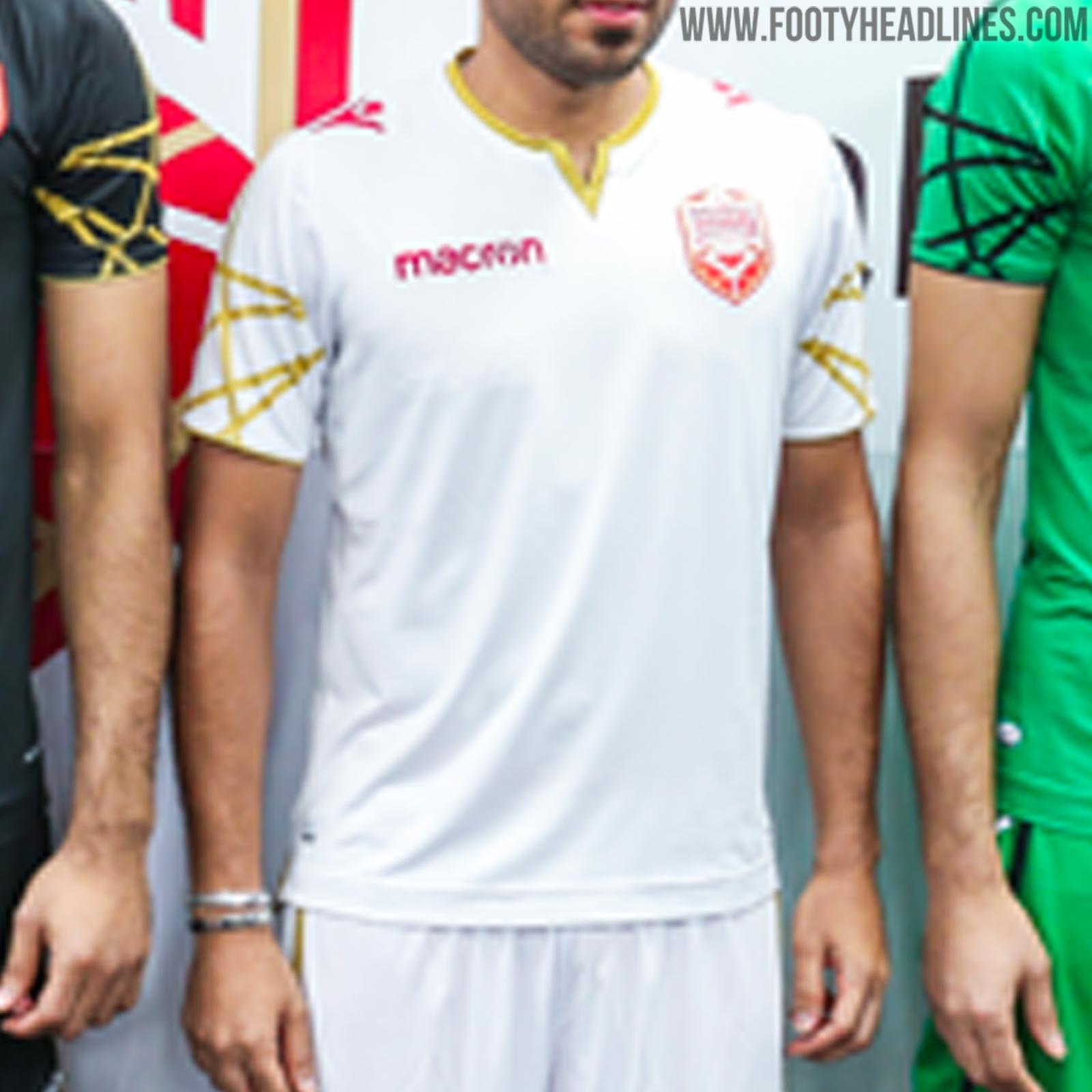 No More Romai - Macron Bahrain 2019-20 Home   Away Kits Released ... 0b3850af3