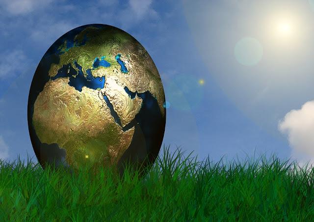NASA Dan Flat Earth Salah, Ternyata Bentuk Bumi Sebenarnya Seperti Ini... - Bumi Telur
