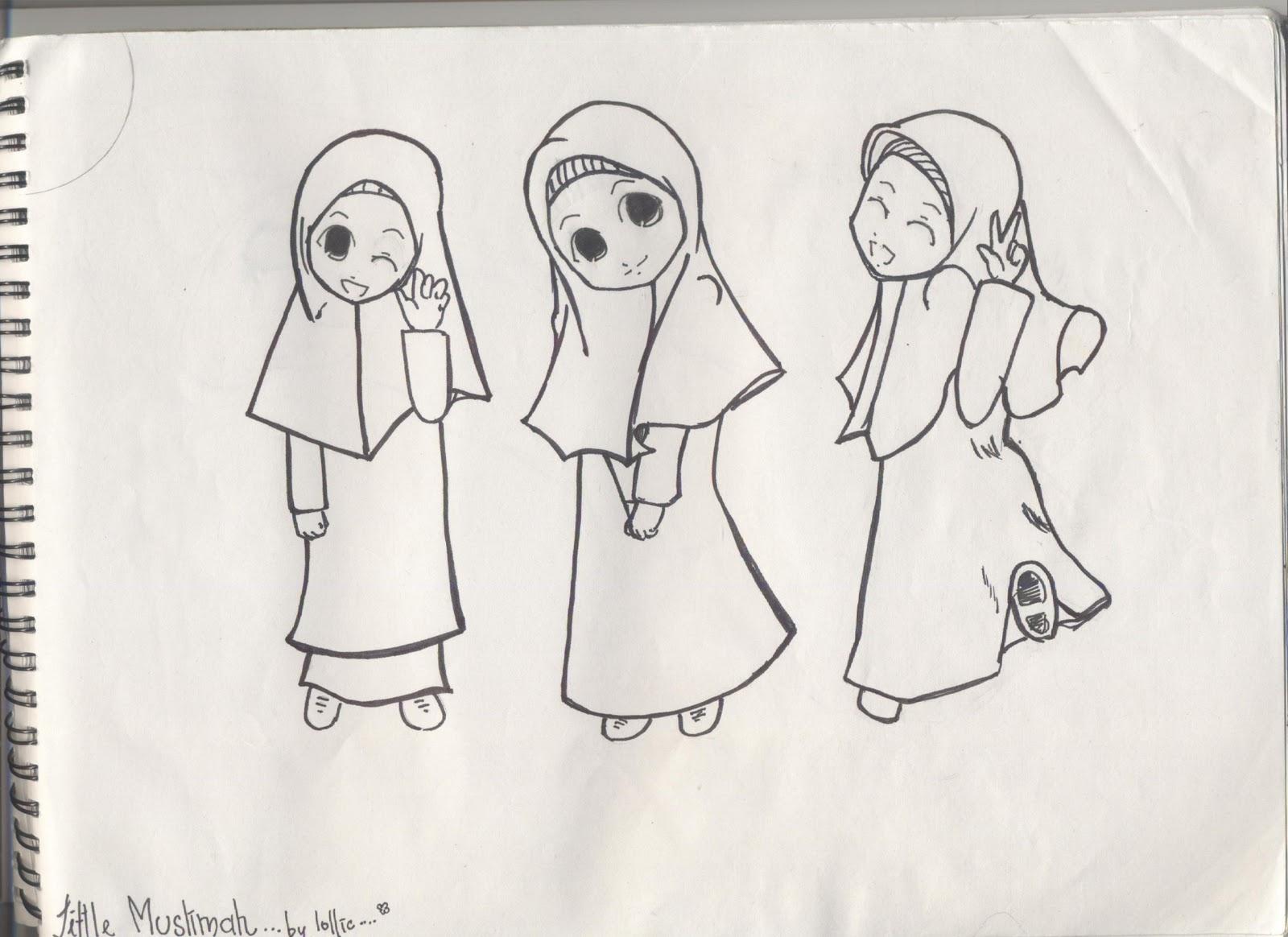 Islam Itu Indah Gambar Kartun 2 Drawing Session