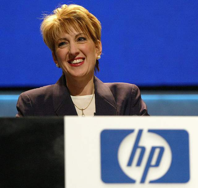 Carly Fiorina, CEO, Hewlett-Packard (HP)